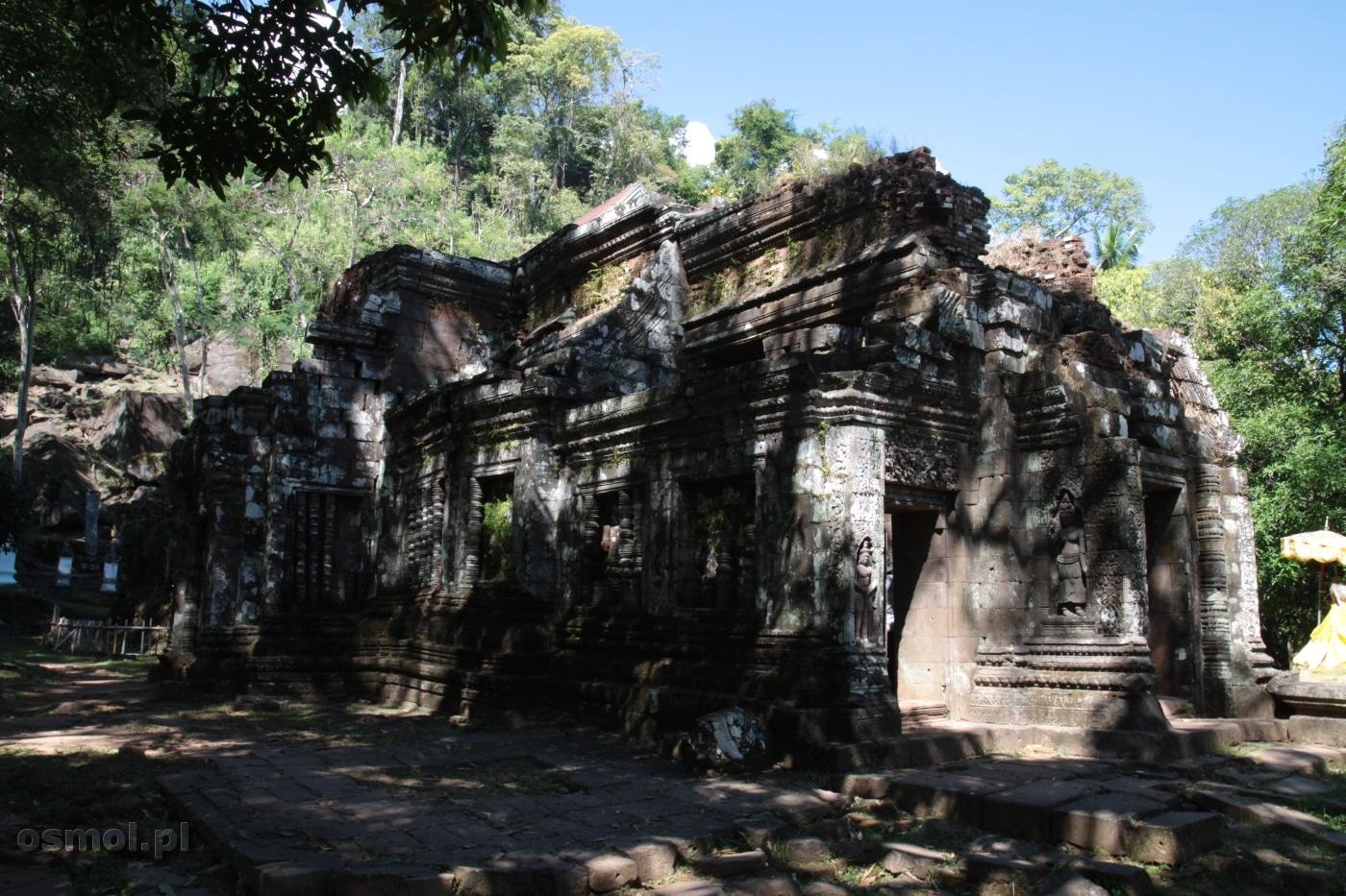 Wat Phou w Laosie - Champasak
