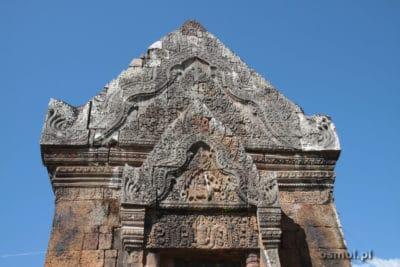 zdobienia w Champasak Wat Phou