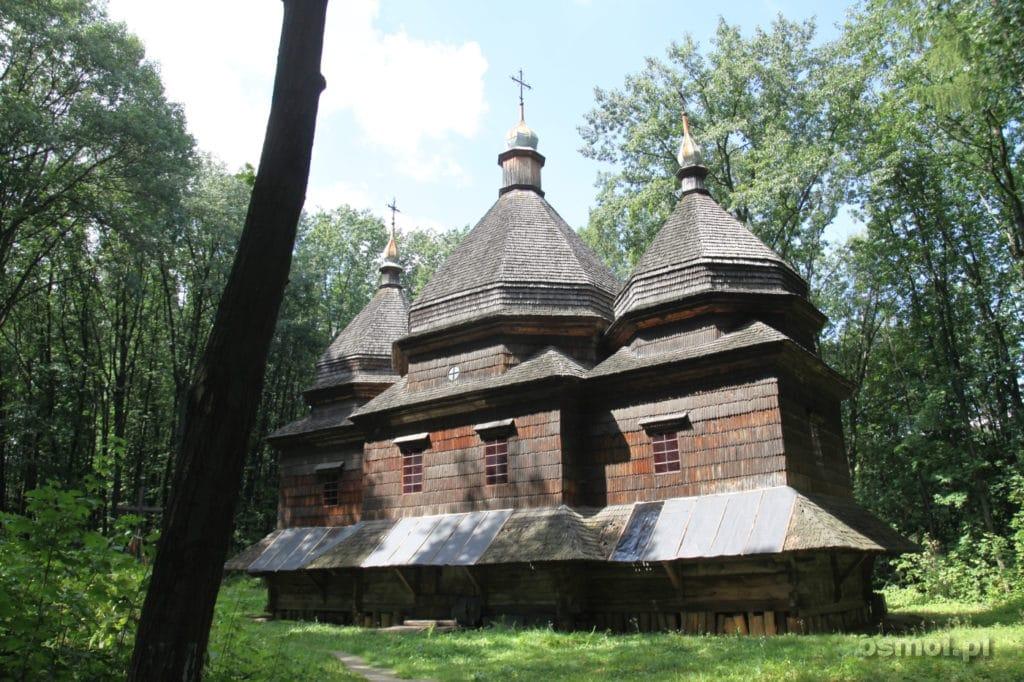 Cerkiew w Gaju Szewczenki we Lwowie