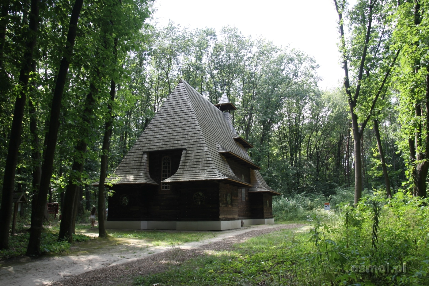 Polski kościół w Gaju Szewczenki we Lwowie
