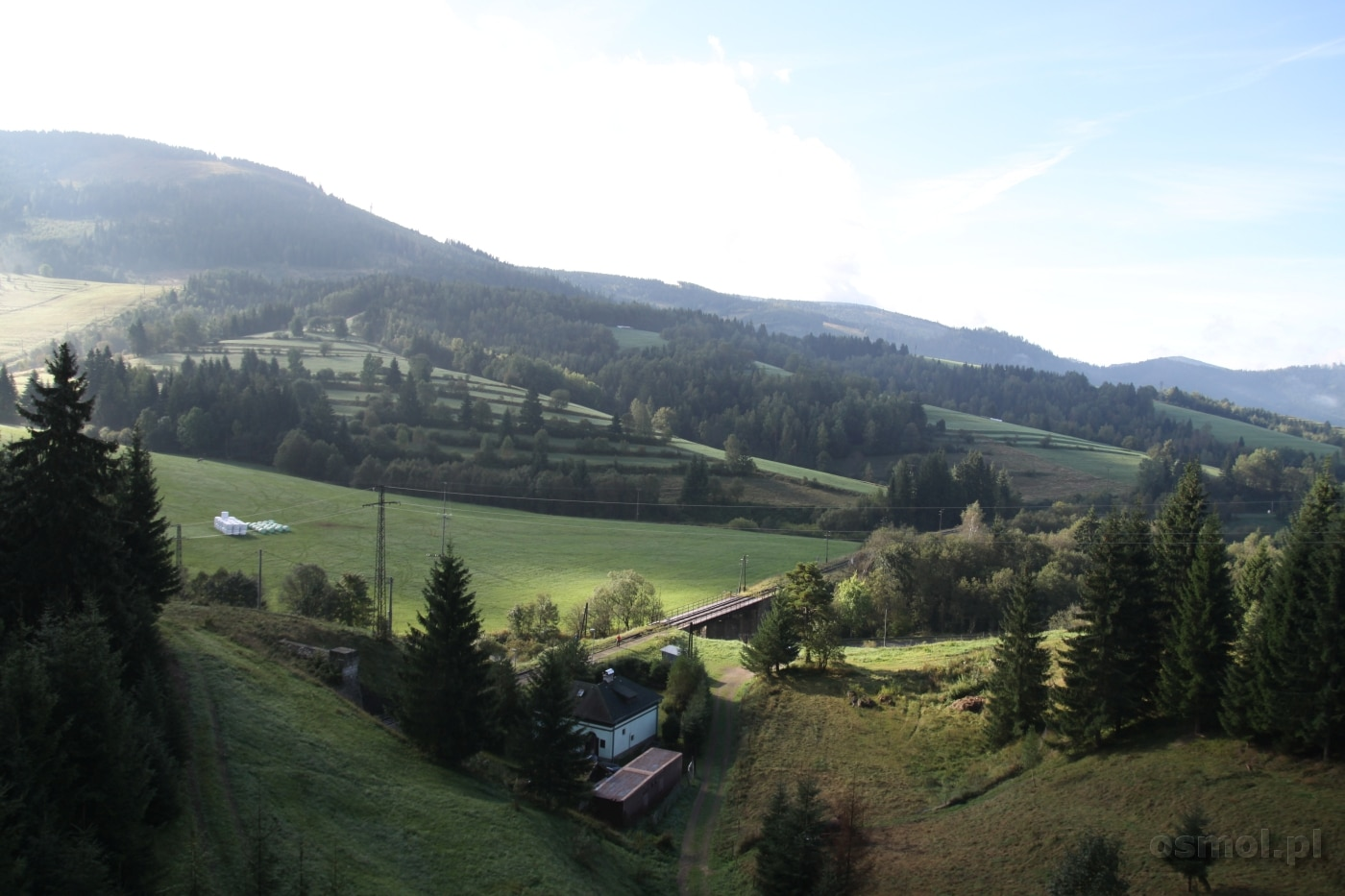 Krajobraz Słowacji tak bardzo przypominający inne góry. Np. w Szwajcarii...