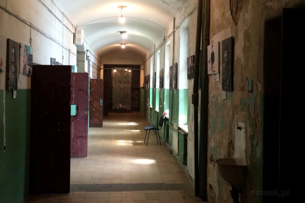 Wnętrze muzeum NKWD we Lwowie