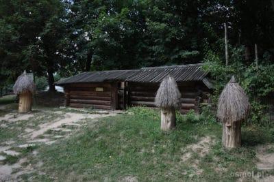 Pasieka w skansenie we Lwowie