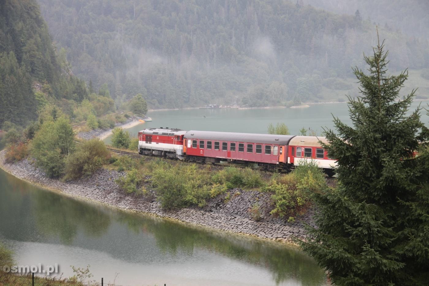 Pociąg na Słowacji