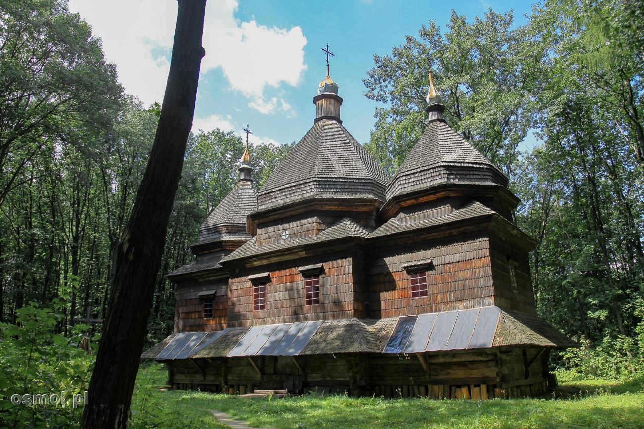 Drewniany kościół katolicki w Gaju Szewczenki we Lwowie