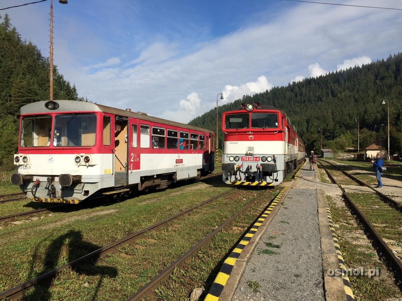 Stacja Czerwona Skała na Słowacji