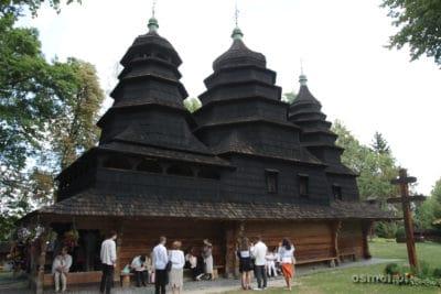 Stara cerkiew w Gaju Szewczenki we Lwowie