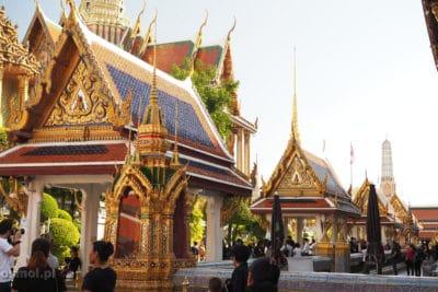 Zabudowania świątynne w Pałącu Królewskim w Bangkoku