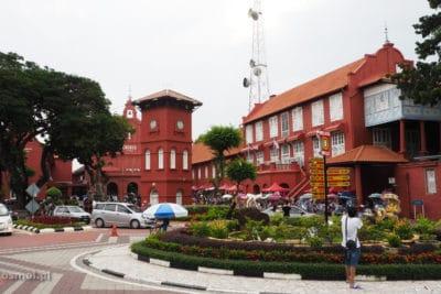 Centralny plac w Malakce Malezja