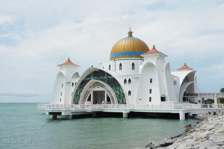 Meczet na wodzie w Malakce