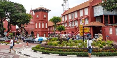 Malaka Malezja Plac Czerwony