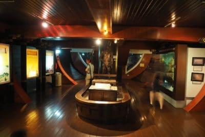 Malakka muzeum w replice statku