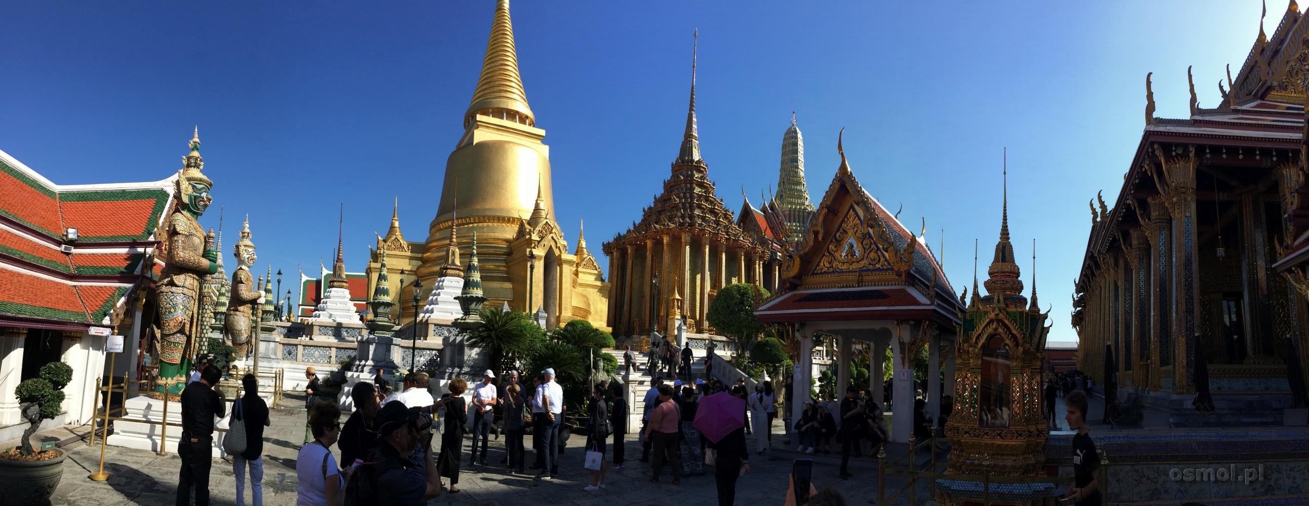 Pałac Królewski w Bangkoku złoto i tradycja