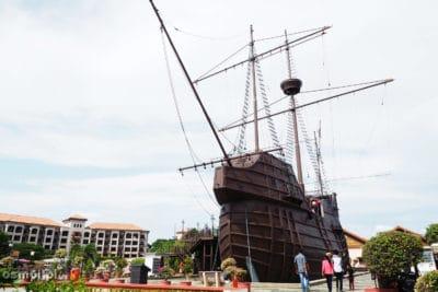 Muzeum w kształcie okrętu - Malakka