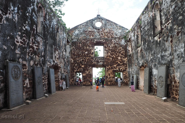 Ruiny kościoła św. Pawła w Malakce