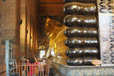 Wat Pho - Leżący Budda
