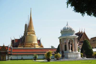 Wejście do Pałacu Królewskiego w Bangkoku