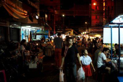 Uliczka w China Town w Bangkoku