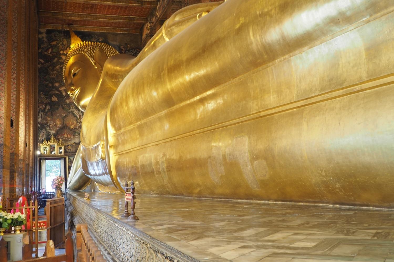 Leżący Budda w Bangkoku - świątynia Wat Pho