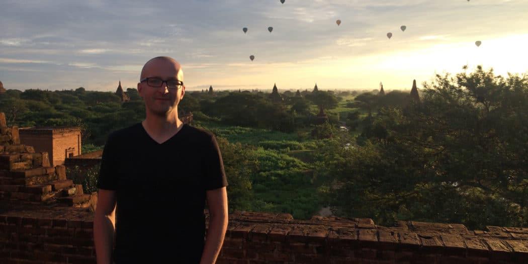 Birma Bagan o poranku
