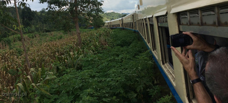 Pociąg w Birmie