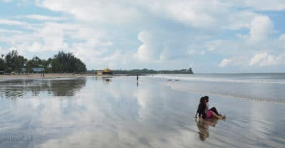 Plaża Chaung Tha w Birmie