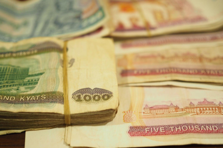 Pieniądze w Birmie