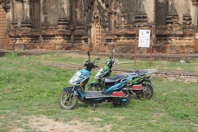 Skutery elektryczne w Birmie Bagan
