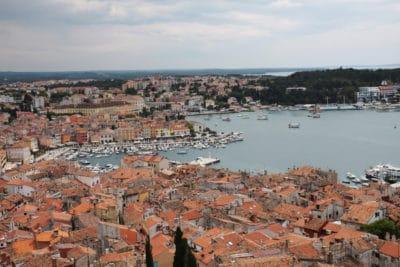 Panorama Rovinj w Chorwacji