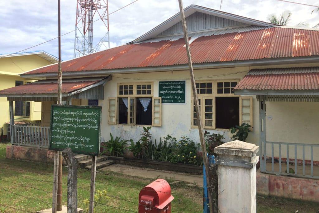 Poczta w Chaung Tha