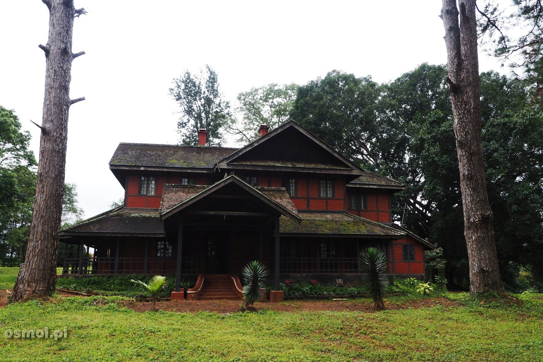 Stary postkolonialny dom w Pyin Oo Lwin