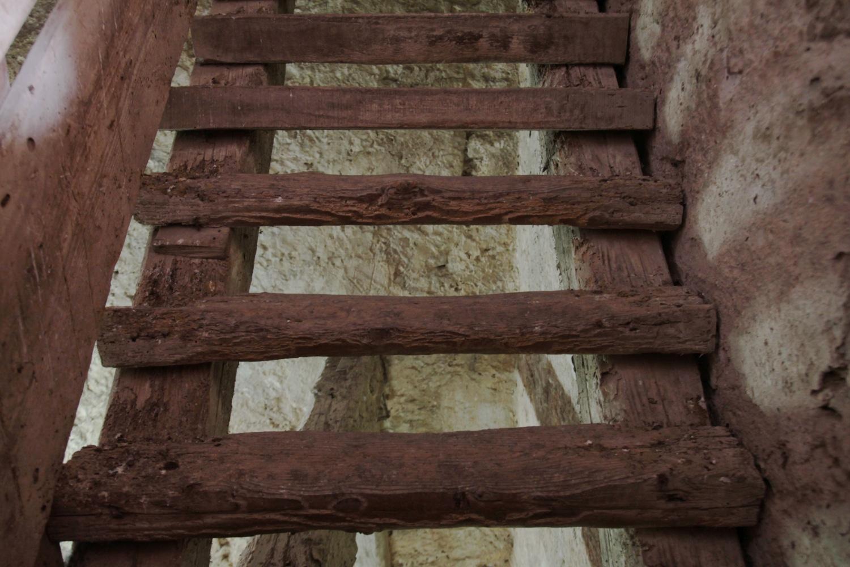 Schody na dzwonnice kościoła w Rovinj