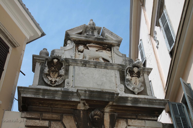 Wenecki lew w Rovinj