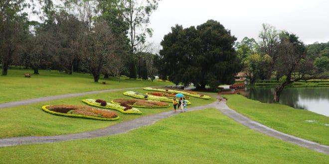 Pyin Oo Lwin w Birmie - ogród botaniczny