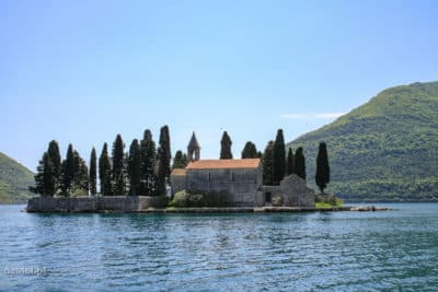 Wyspa św. Jerzego tuż obok Perastu