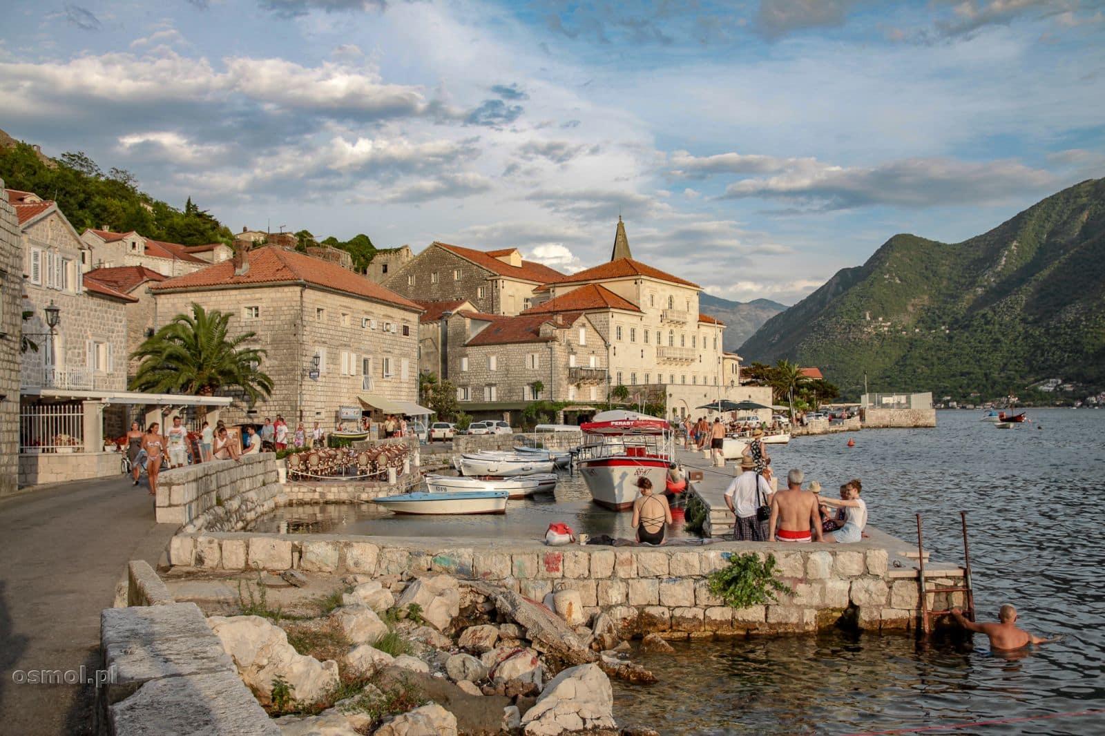 Perast w Czarnogórze