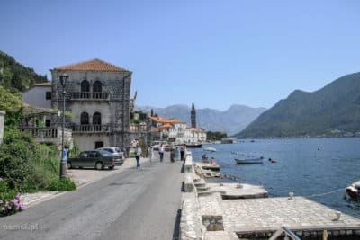 Główna ulica w Peraście - Czarnogóra
