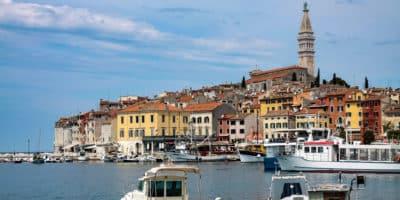Rovinj to podobno jedno z najładniejszych miast chorwackiej Istrii. Cóż, ja zdecydowanie wolę Pulę, ale to inna opowieść.