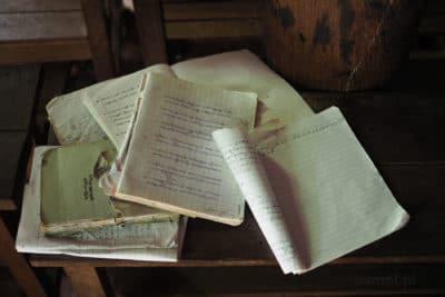 Notatki w klasztorze w Birmie