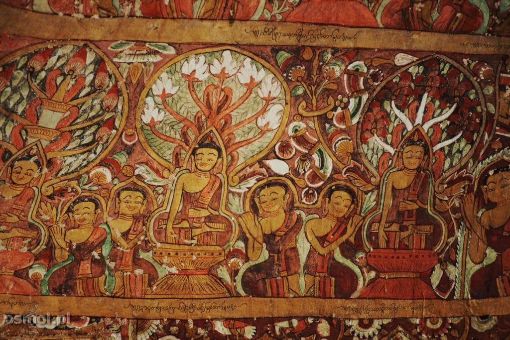 Malowidła na ścianach Pho Win Daung