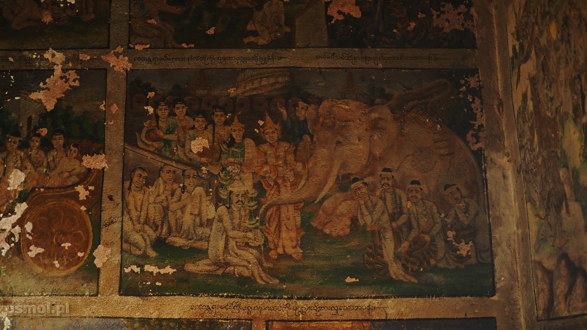 Obrazy na ścianach Pho Win Daung