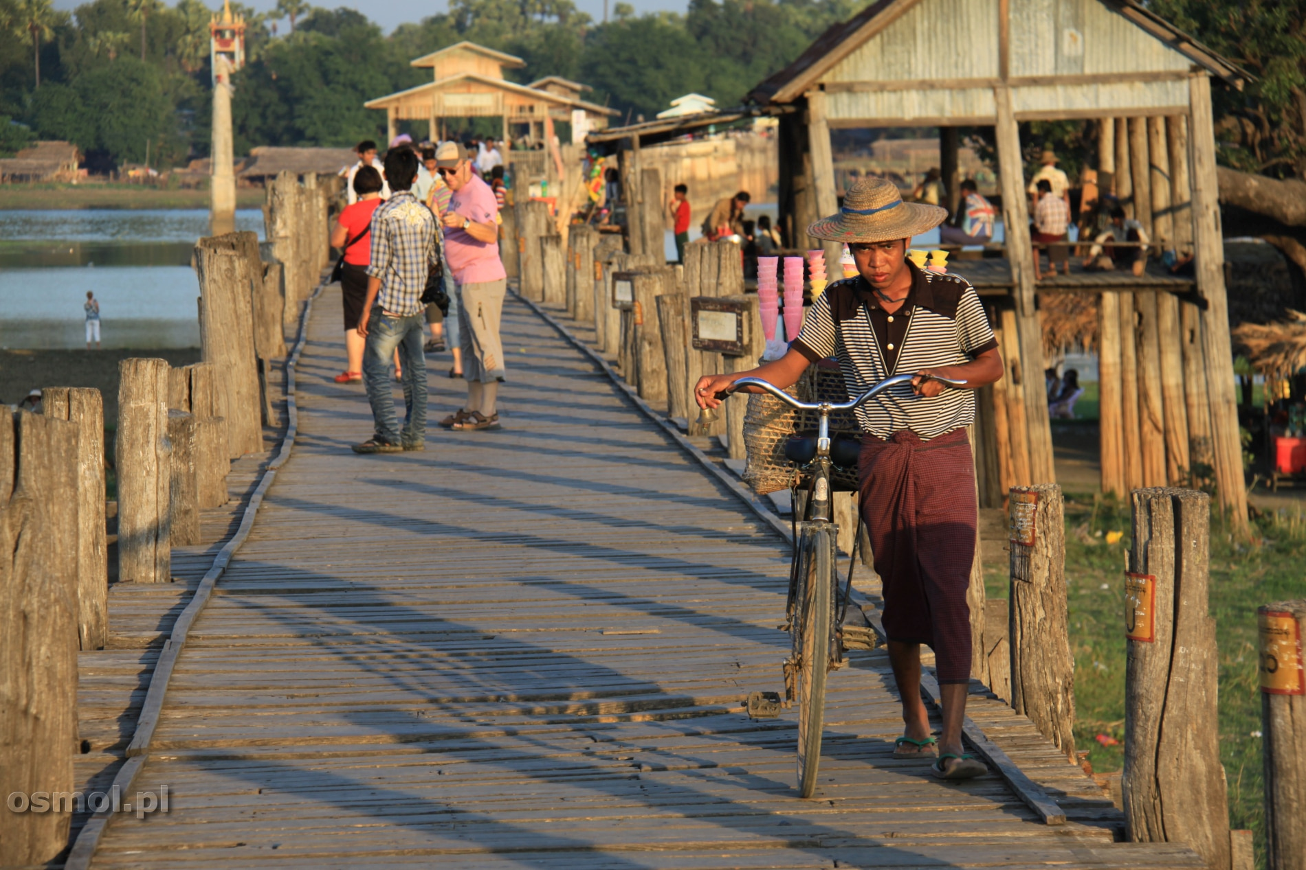 Myanmar U Bein Bridge