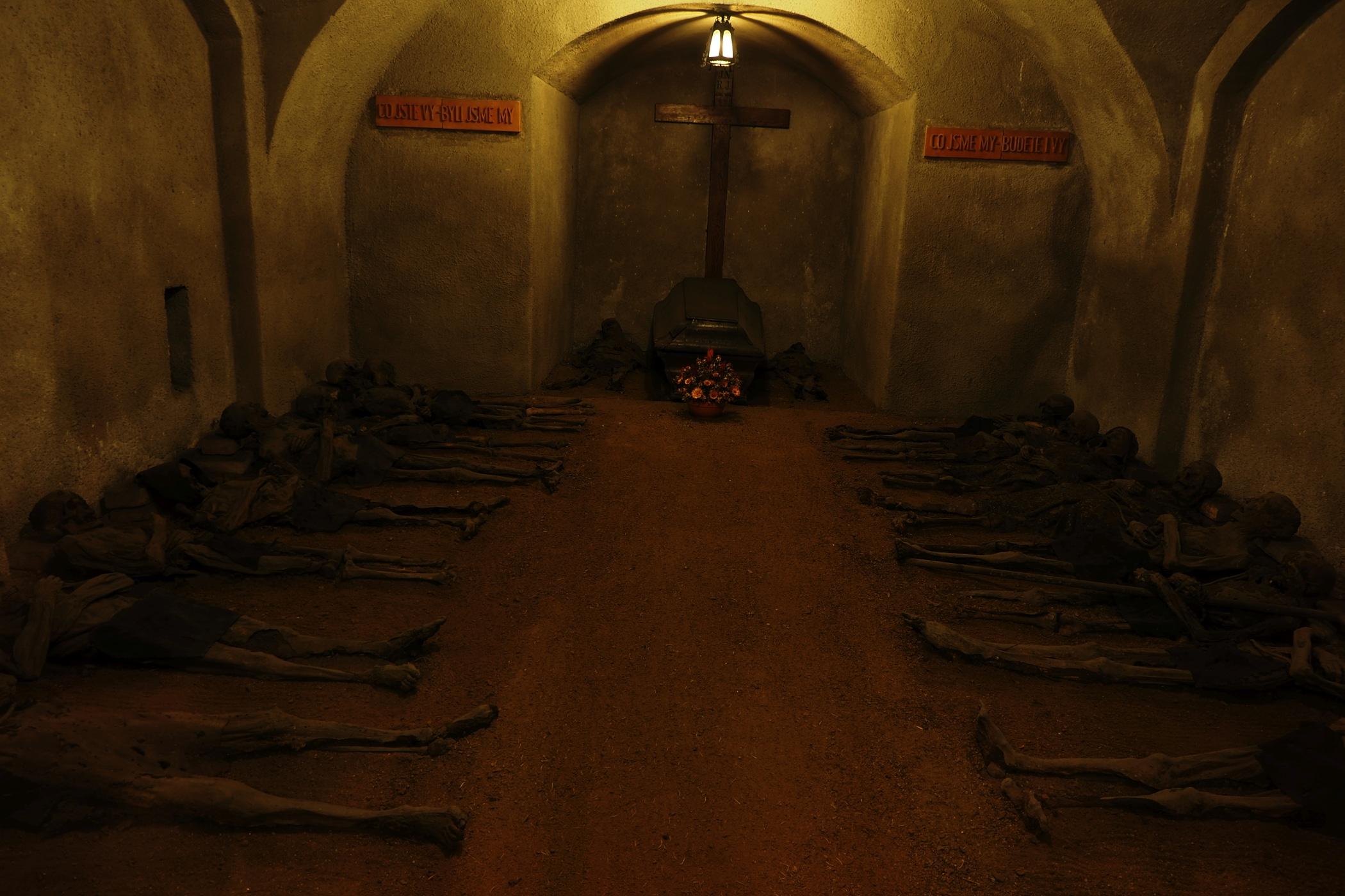Krypty klasztoru Kapucynów w Brnie