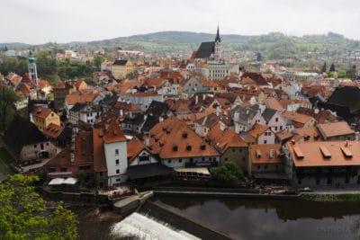 Panorama Czeskiego Krumlova