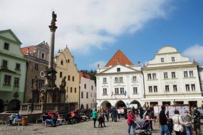 Rynek w Czeskim Krumlovie