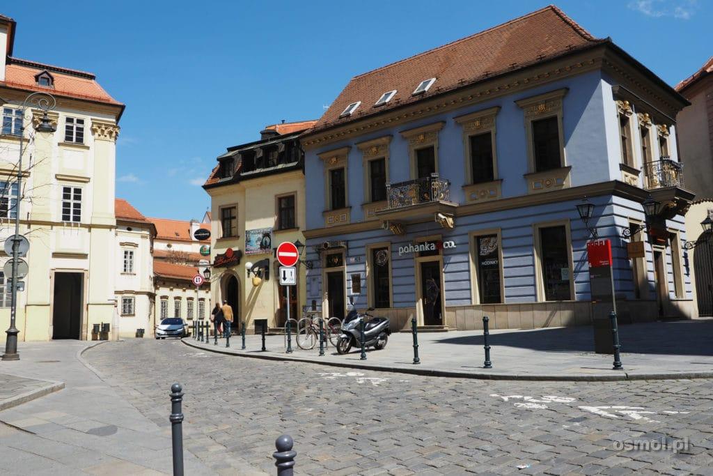 Stara uliczka w Brnie