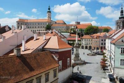 Widok na Mikulov Czechy