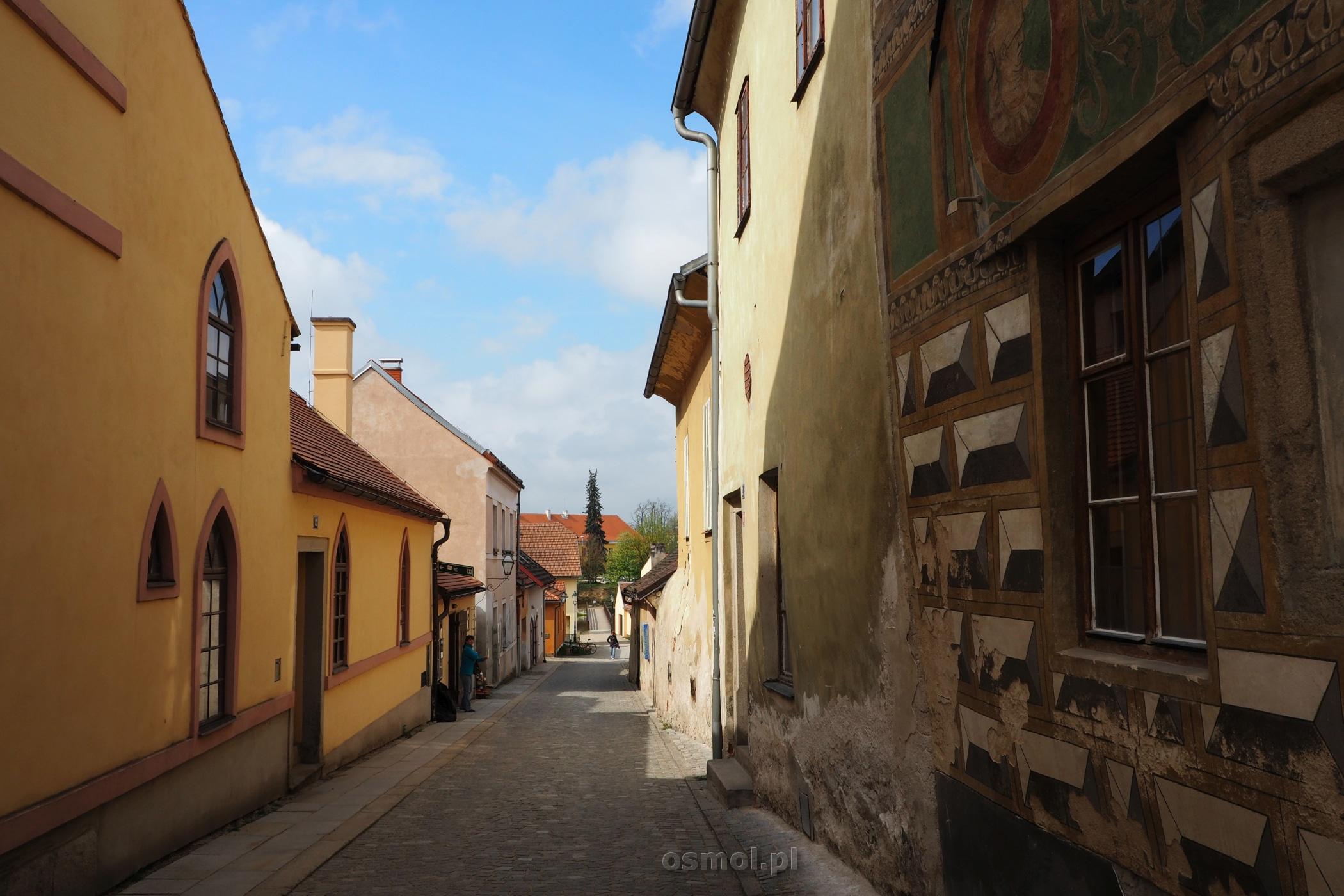 uliczka w Telczu
