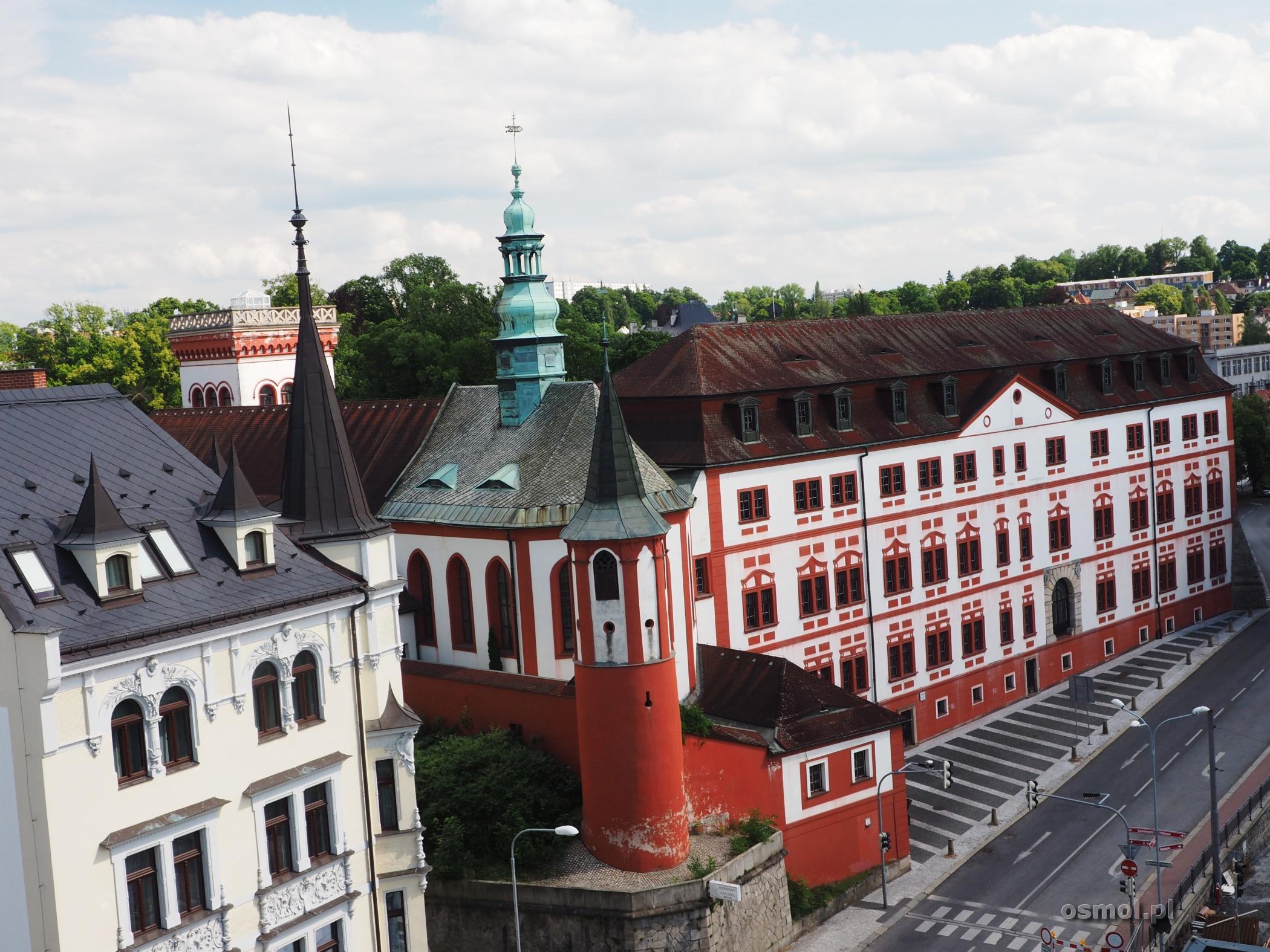 Zamek w Libercu, który w zasadzie jest bardziej pałacem