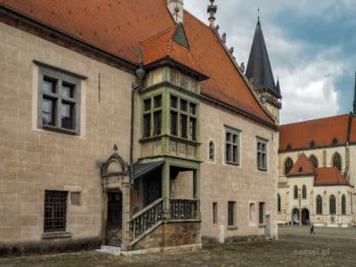 Ratusz w Bardejovie Słowacja